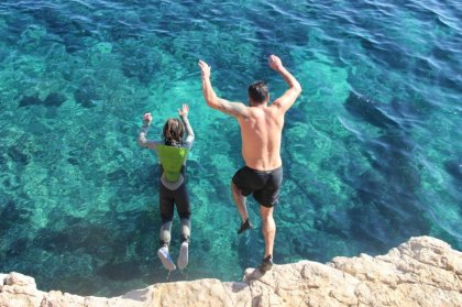 Summer adrenaline shots: cliff diving