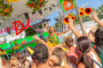 A day out at Ocean Beach Ibiza for HotBed