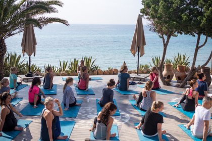 Aiyanna Ibiza sets a stunning scene for yoga and breakfast