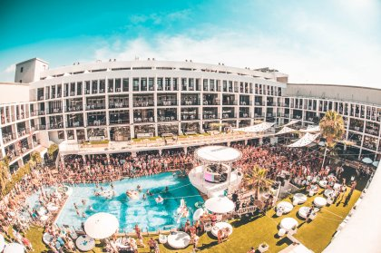 A day of luxury in the Ibiza Rocks VIP Party Suite