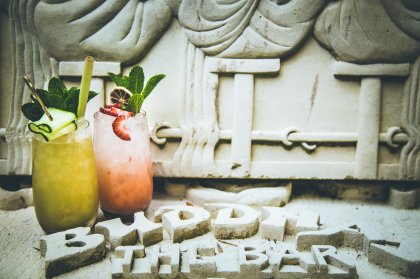 Cocktails at the wonderful world of Bambuddha
