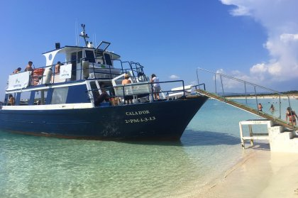 All aboard the Formentera Explorer