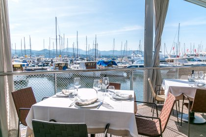 Summer loving: lunch at Es Nautic