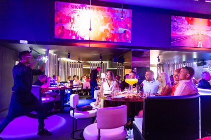 Dinner on a different level at STK Ibiza