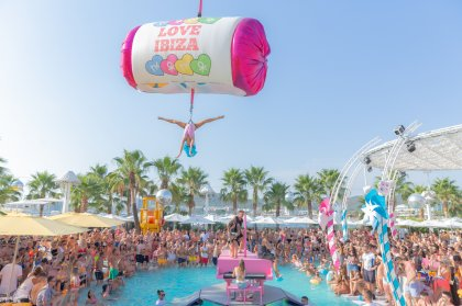 The final parties at Ocean Beach Ibiza