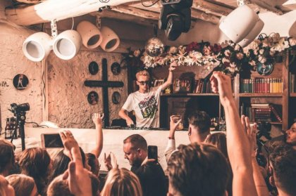 Denis Sulta is back at Pikes this Sunday