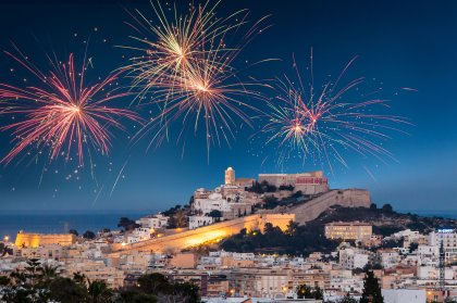 New Year's Eve parties on Ibiza