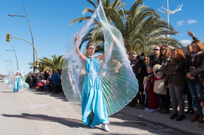 A riot of colour with the Ibiza Carnival 2019