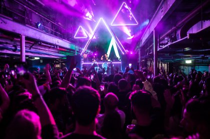 Pyramid's takeover of Printworks London in 10 images