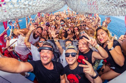 Ride the waves with Oceanbeat boat party