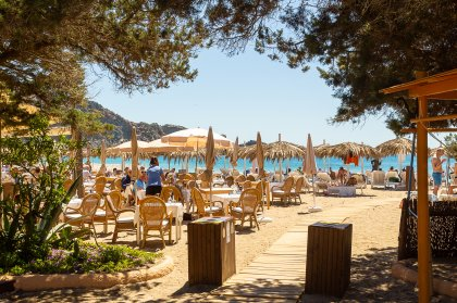 Food review: Tropicana Beach Club, Cala Jondal