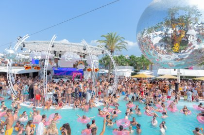 Let's Fiesta at O Beach Ibiza
