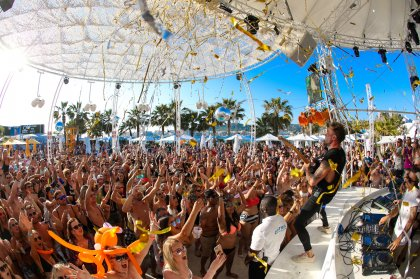 O Beach Ibiza opening party in ten pictures