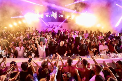 Fiesta de apertura de Destino con Music On | Daytime