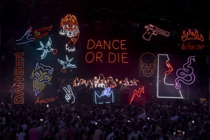 DANCE OR DIE had us dancing with Carl Cox at Ushuaïa