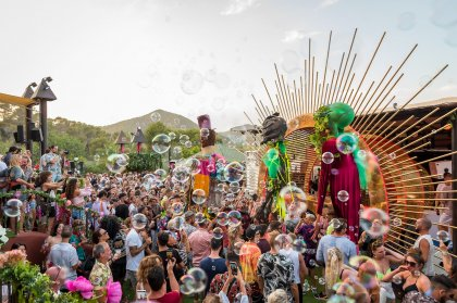 elrow brings The Gardenarium to life at Cova Santa
