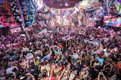 Kaos reigns at elrow's closing party