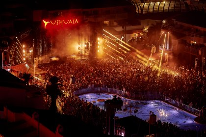 An emotional farewell at Ushuaïa's closing party