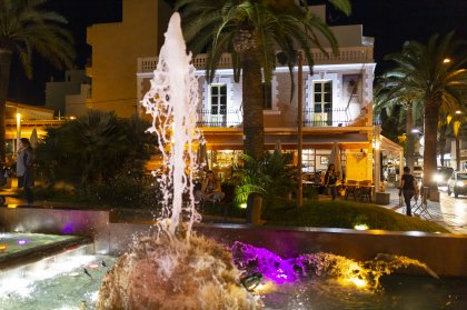 Half price Thursday night dinners in Santa Eulalia