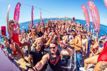 Oceanbeat boat party is ship-shape for summer