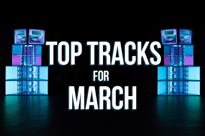 Hot new tracks for March