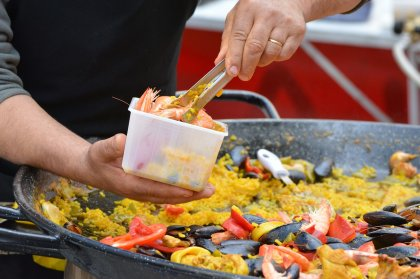 Ibiza lockdown recipes: seafood paella
