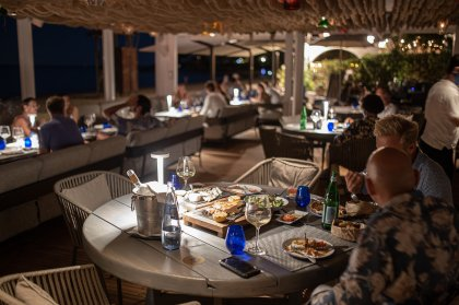 Food review:  Chiringuito Blue, Santa Eulalia
