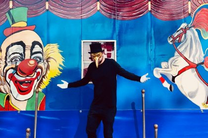 Meet the ringmaster: Claptone in the circus