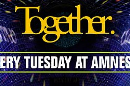 News: Together at Amnesia and Early bird tickets!