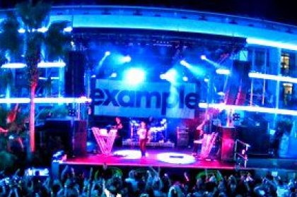 Review: Example at Ibiza Rocks, 29th August