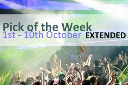 Pick of the Extended Week: 1st - 10th October