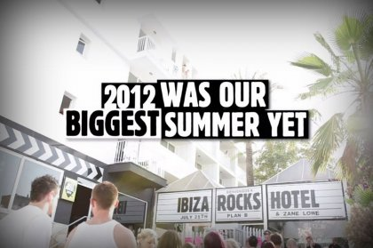 Ibiza Rocks & W.A.R. Highlights 2012