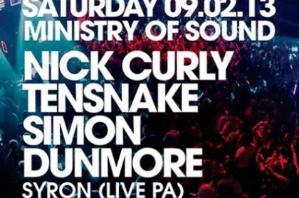 Defected bring Nick Curly + Tensnake to MOS