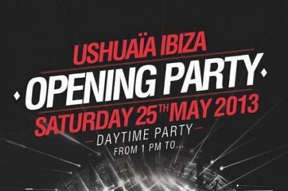 Ushuaïa Opening Party: Line Up Announcement
