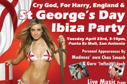 St George's Day, Ibiza