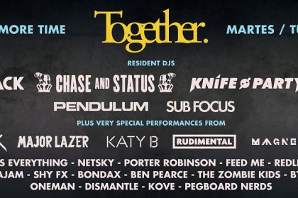 Together at Amnesia 2013 Announced