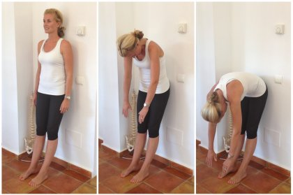 Ibiza Pilates: The Roll Down