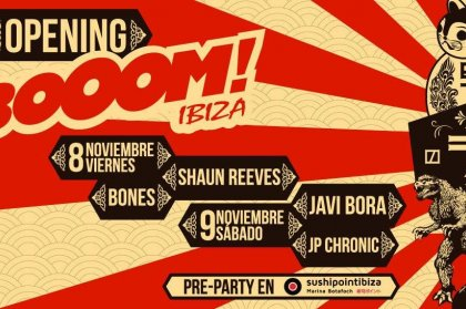 Booom Ibiza Winter Opening Weekend 2013