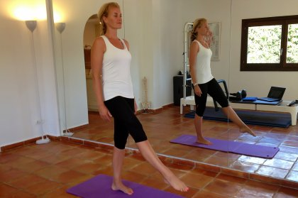 Ibiza Pilates: point and flex (week 4)