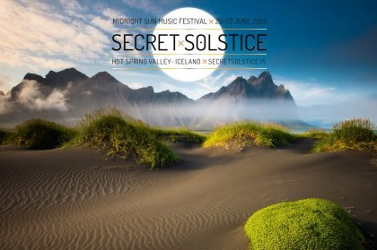 Secret Solstice Festival Iceland 20th-22nd June 2014