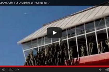 UFO Sighted above Privilege Ibiza