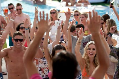 Review: Pool Party at Ocean Beach, 20th June