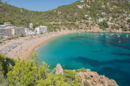 Cala San Vicente Beach