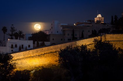 Astronomy: see the moon