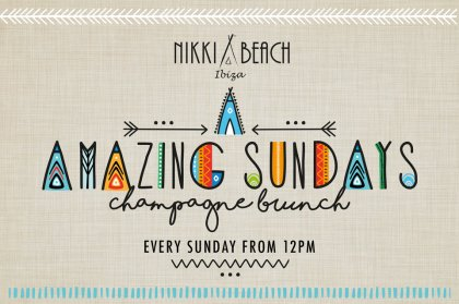 Amazing Sundays Champagne Brunch at Nikki Beach