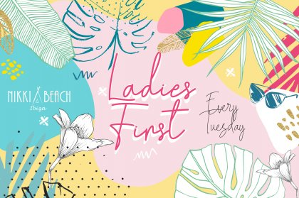 Ladies first at Nikki Beach