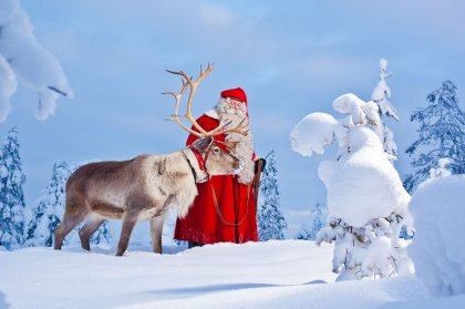 Visit of Santa Claus in Ibiza town