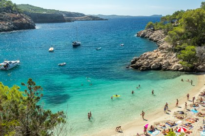 Spiagge gay-friendly ad Ibiza