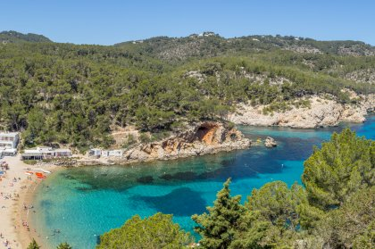 Ibiza's beautiful beaches