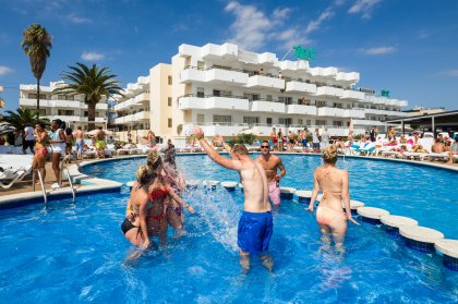 Apartments for clubbers in Ibiza